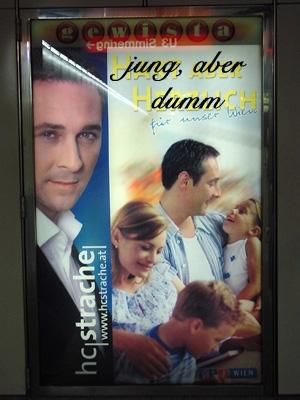 HC Strache - jung aber dumm
